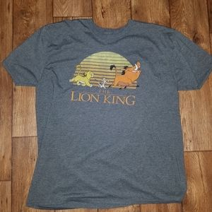 Lion King tee XXL Simba Pumbaa Timon Hakuna Matata